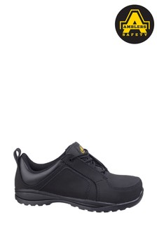 Amblers Safety Black FS59C Lace-Up Safety Trainers