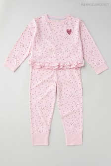 Angel & Rocket Pink Angel Wings Pyjamas