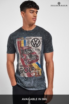 Grey Golf Volkswagen Licence T-Shirt
