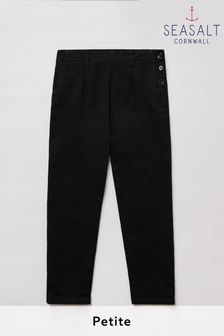 Seasalt Petite Black Waterdance Trousers