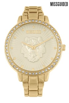 Missguided Lion Watch