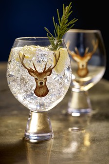 Set of 2 Audley Gin Glasses
