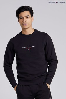 Tommy Hilfiger Black Essential Tommy Sweatshirt