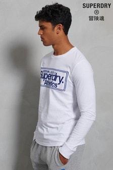 Superdry Classic Logo Athletics Long Sleeve Top