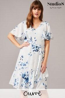 Studio 8 Blue Sarah Floral Dress