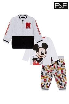 F&F Grey Mickey Set