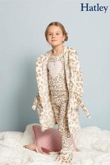 Hatley Painted Leopard Fleece Robe