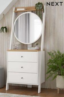 Chalk Malvern Storage Dressing table with mirror