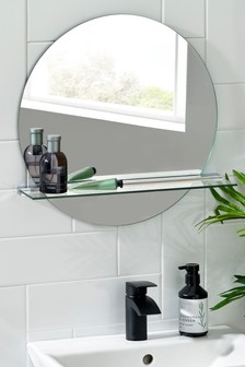 Moderna Shelf Mirror
