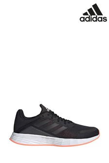 adidas Run Black/Red Duramo SL Trainers