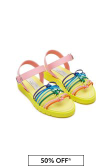 Girls Multicoloured Sandals