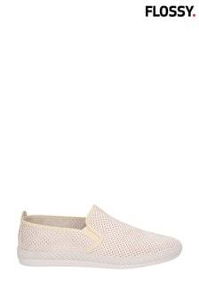 Flossy Cream Vendarval Slip-On Shoes