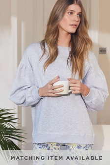 Grey Long Sleeve Lightweight Top