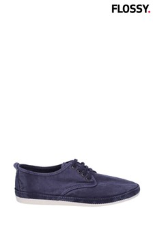 Flossy Blue Raudo Slip-On Shoes