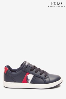 Ralph Lauren Navy Ormond Trainers