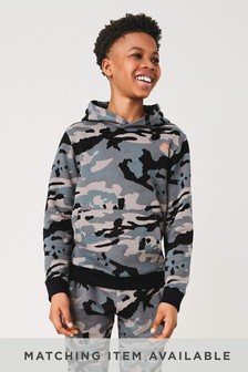 Camouflage Hoody Mineral Print (3-16yrs)
