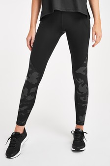 Under Armour ColdGear Camo Leggings