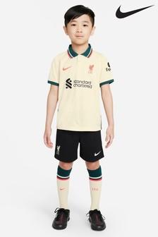 Nike Infants Liverpool 21/22 Away Football Kit