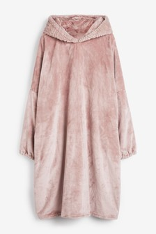 Pink Snuggle Oversized Dressing Gown