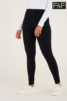 F&F Black Contour Leggings
