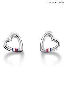 Tommy Hilfiger Ladies Heart Stud Earrings