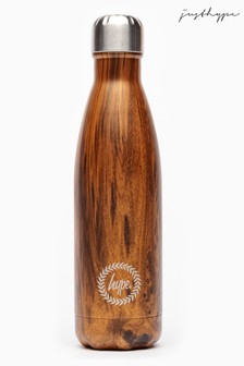 Hype. Brown Metal Reusable Bottle
