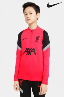 Nike Red Liverpool Strike Drill Top