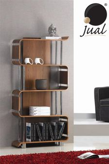 Helsinki Bookshelf Walnut by Jual