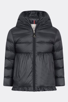 Baby Girls Navy Down Padded Odile Jacket
