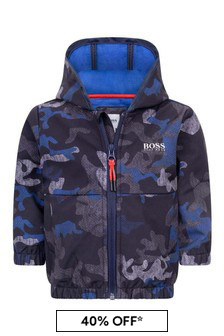 Baby Boys Camouflage Windbreaker Jacket