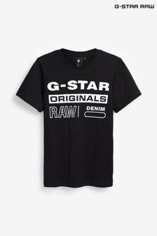 G-Star Black Logo T-Shirt