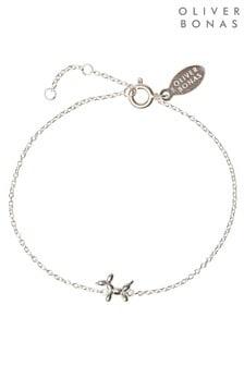 Oliver Bonas Balloon Dog 925 Silver Bracelet