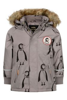 Kids Grey K2 Penguin Parka