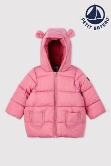 Petit Bateau Pink Padded Coat