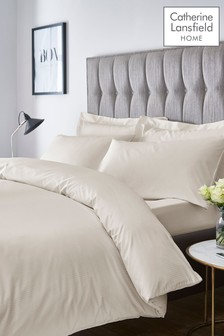 Set of 2 Satin Stripe Pillowcases by Catherine Lansfield