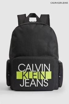 Calvin Klein Black Back To School Backpack