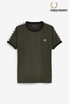 Fred Perry Boys Ringer T-Shirt