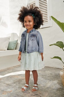 Mint Bunny Top And Skirt (3mths-7yrs)