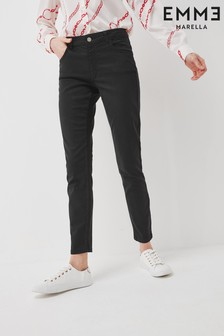 Emme by Marella Slim Fit Gaberdine Denim Jeans