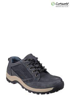 Cotswold Blue Nailsworth Lace-Up Shoes