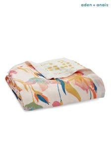 aden + anais Silky Soft Marine Gardens Dream Blanket