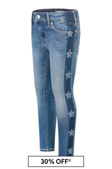 Girls Blue Denim Nora Skinny Jeans