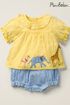 Boden Multi Appliqué Woven Play Set