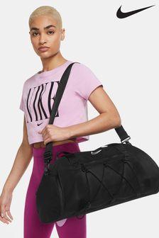 Nike Black One Duffel Bag