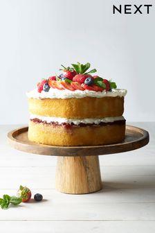Mango Wood Cake Stand