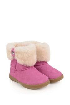 UGG Girls Pink Ramona Boots
