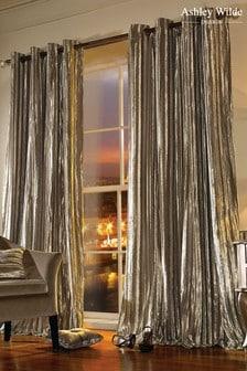 Ashley Wilde Natural Eyelet Curtains