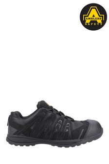 Amblers Safety Black FS40C Safety Trainers