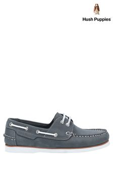 Hush Puppies Blue Hattie Lace-Up Boat Shoes