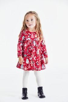 Red Christmas Dress (3mths-7yrs)
